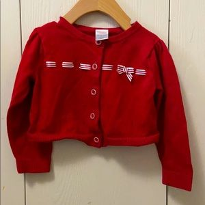 Gymboree Venice Sweetie Red Cardigan